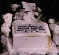 Pictured here is the original stone that marked the spot where Seamus Ludlow's body was discovered on 2 May 1976.